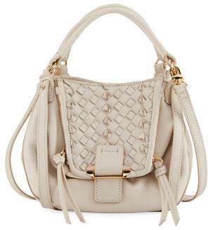 Kooba Jonnie Mini Woven Crossbody Bag $195 thestylecure.com