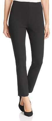 Misook High-Waisted Straight-Leg Pants