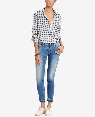 Denim & Supply Ralph Lauren Morgan Cropped Skinny Jeans $89.50 thestylecure.com