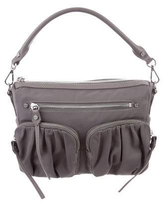 MZ Wallace Leather-Trimmed Roxy Bag