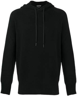 Tom Ford knitted hoodie