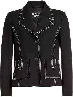 Moschino Blazer with Virgin Wool