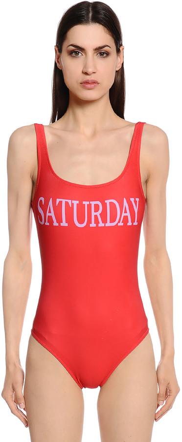 Alberta FerrettiSaturday One Piece Swimsuit
