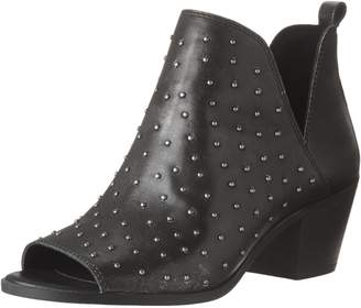 Lucky Brand Women's BARLENNA Ankle Boots, Black/Silver