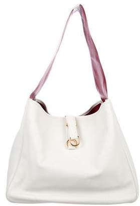 a797a516d6 Pre-Owned at TheRealReal · Ralph Lauren Purple Label Grained Leather Hobo