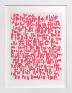 HA-HA-HA-HA Art Print