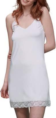 Elita Reversible Lace-Trimmed Full Slip Dress