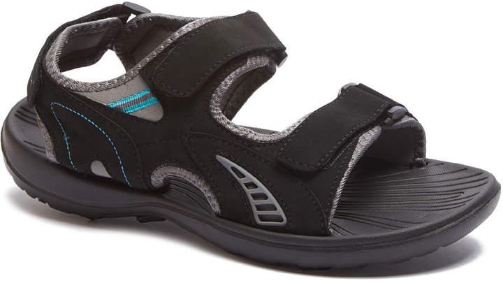 Black & Gray Sandal - Adult
