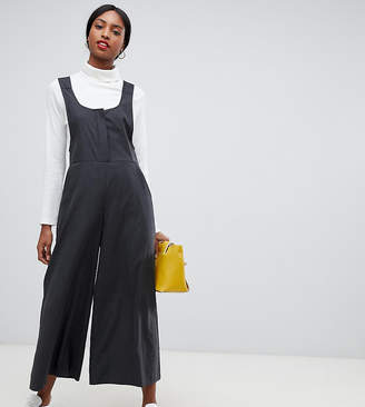 Asos Tall DESIGN Tall minimal dungaree with scoop neck