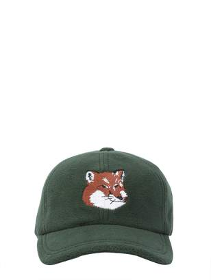 MAISON KITSUNÉ Baseball Cap With Fox Patch