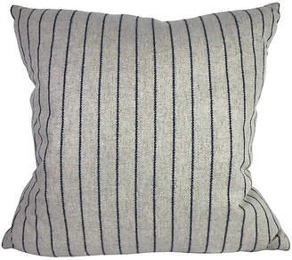 One Kings Lane Vintage Striped Down Pillow - Heather Cook Antiques