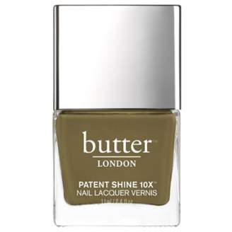 Butter London Patent Shine 10X Nail Polish - British Khaki