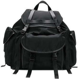 Neil Barrett buckled backpack
