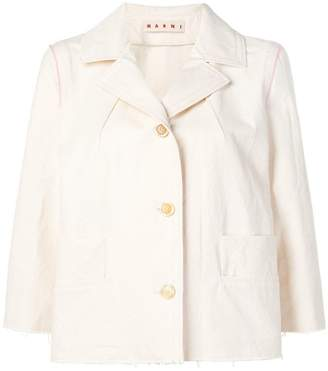 Marni three-four sleeve blazer