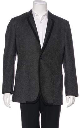 Dolce & Gabbana Wool-Blend Grosgrain-Trimmed Blazer