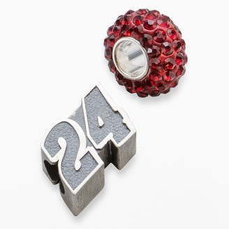 "Insignia Collection NASCAR Jeff Gordon Sterling Silver ""24"" Bead Set"