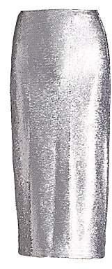 Cinq à Sept Women's Paula Sequin Midi Skirt