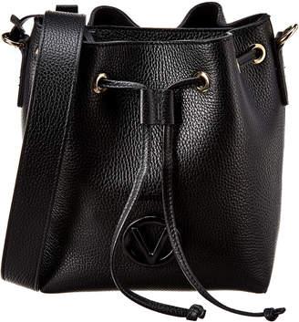 Mario Valentino Valentino By Honorine Dollaro Leather Leather Bucket Bag
