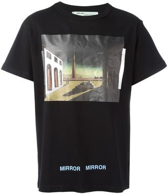 Off-White 'De Chirico' T-shirt $299 thestylecure.com
