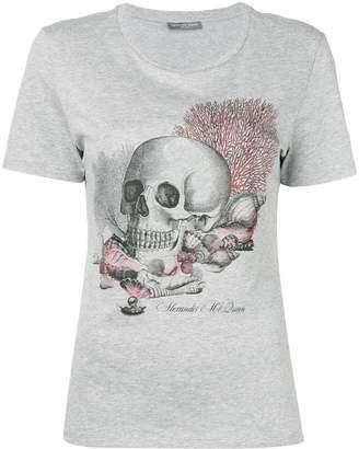Alexander McQueen seashell skull print T-shirt