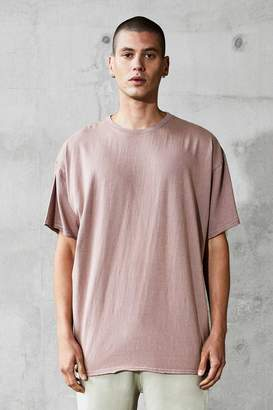boohoo Oversized Heavyweight Raw T-Shirt