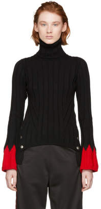 Alexander McQueen Black Jumper Turtleneck