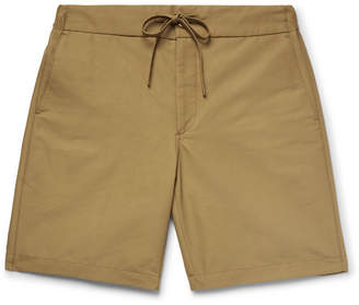 Freemans Sporting Club Cotton-Blend Gabardine Drawstring Shorts