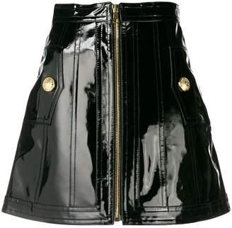 Balmain high-waist mini skirt