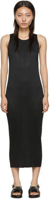 Pleats Please Issey Miyake Black Basics Dress