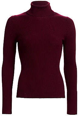 3.1 Phillip Lim Women's Ribbed Turtleneck Sweater