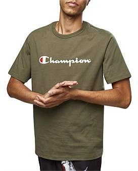 Champion Chmpd Scrpt S/S Tee - Active
