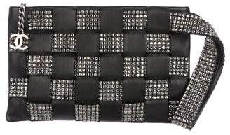 Chanel Woven Strass Clutch