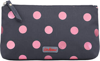 Cath Kidston Button Spot Poly Zip Make Up Bag