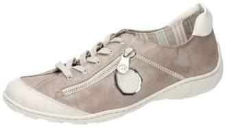 Rieker womens-Lace-Up grau 950824-9, Size 42