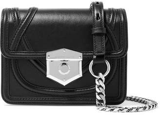 Alexander McQueen Wicca Leather Shoulder Bag - Black