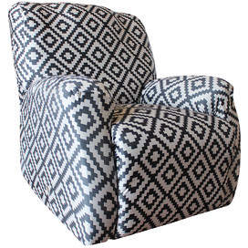 Sure Fit Statement Prints Tribal Recliner Cover