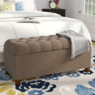 Andover Mills Halvorson Upholstered Storage Bench