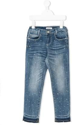 Liu Jo Kids crystal-embellished jeans