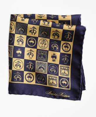 Brooks Brothers Limited-Edition 200th Anniversary Silk Pocket Square