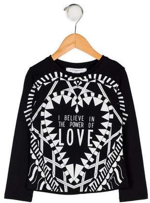 Givenchy Girls' Graphic Print Top w/ Tags