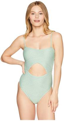 Bikini Lab THE Sand Dunes Cut Out One-Piece Swimsuit Women's Swimsuits One Piece