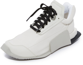 Adidas Adidas x Rick Owens Level Low Runners $840 thestylecure.com