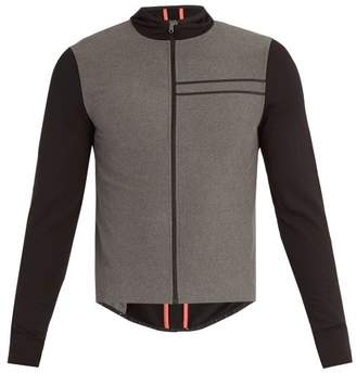 Ashmei - Hooded Windproof Cycling Jersey - Mens - Grey Multi