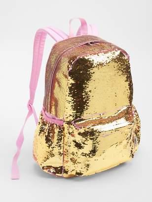 Gap Flippy Sequin Senior Backpack