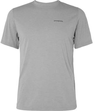 Patagonia Nine Trails Mélange Jersey T-shirt - Gray