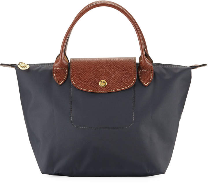 Longchamp Le Pliage Small Handbag - DARK GRAY - STYLE