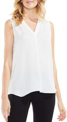 Vince Camuto Sleeveless V-Neck Blouse