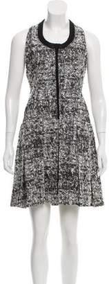 Proenza Schouler Bouclé Knee-Length Dress