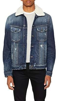 Antony Morato Men's Collo Staccabile Jacket, (Blu Denim 7010), XX-Large