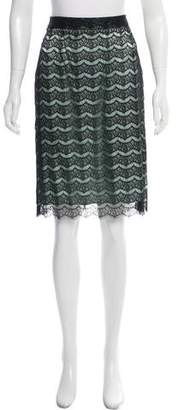 Milly Lace Knee-Length Skirt w/ Tags